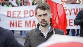 Szef AgroUnii Michał Kołodziejczak.