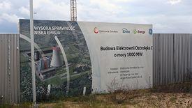 To za tym płotem ma powstać Ostrołęka C. Projekt zwany ostatnim węglowym blokiem w Polsce.
