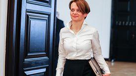 Jadwiga Emilewicz komentuje nagrody dla szefowej Kancelarii Sejmu