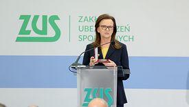 Prof. Gertruda Uścińska. Nie chce wchodzić w rozmowy o polityce, woli dyskutować na podstawie liczb