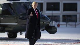 Donald Trump do Davos przyleciał helikopterem. Jego delegacja będzie musiała za niego zapłacić