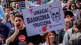 Frankowicze liczą na pozytywny wyrok TSUE.