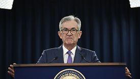 Jerome Powell stoi na czele amerykańskiego banku centralnego.