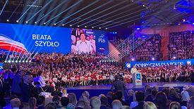 Beata Szydło z nowymi obietnicami. Konwencja programowa PiS w Lublinie