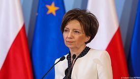 Minister Rodziny, Pracy i Polityki Społecznej Marlena Maląg.