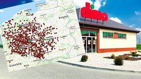 Dino skupia się na razie na zachodniej części Polski