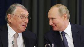 W Soczi prezydent Władimir Putin spotkał się m.in. z Klausem Mangoldem