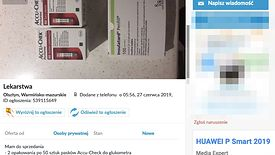Choć to nielegalne, bez trudu można np. w OLX znaleźć oferty leków na receptę.