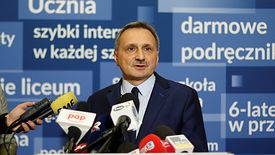 Na zapowiedź strajku nauczycieli odpowiedział wiceminister Maciej Kopeć, zastępca Anny Zalewskiej.