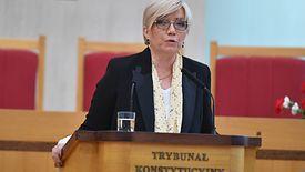 Ustawa dezubekizacyjna. Na zdj. Julia Przyłębska, prezes Trybunału Konstytucyjnego
