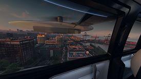 Model kabiny Uber Air