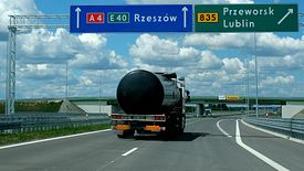 Oddany do użytku odcinek autostrady A4 między węzłem Rzeszów Wschód i węzłem Jarosław Zachód