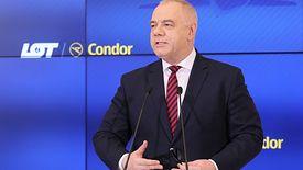 Wicepremier Jacek Sasin jest zwolennikiem fuzji
