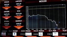 WIG20 zaliczył najgorszy tydzień od... 12 lat. Tak źle w historii giełdy było tylko trzy razy.