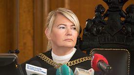 Sędzia Lidia Jedynak wciąż będzie odczytywać wyrok.