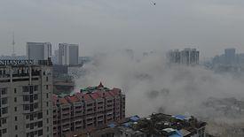 Wuhan, stolica prowincji Hubei, w której wybuchła epidemia koronawirusa.