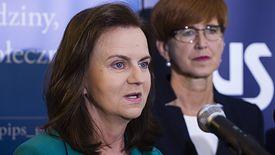 Prezes ZUS Gertruda Uścińska i minister Elżbieta Rafalska - to one muszą zrealizować dwie sztandarowe obietnice PiS