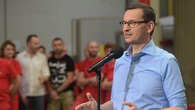 Mateusz Morawiecki był we wtorek w jednym z zakładów produkcyjnych w Ozorkowie