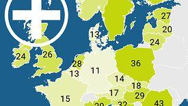 Polacy rzadko chodzą do lekarza, porównując z resztą Europy