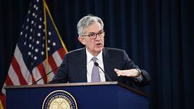 Rezerwa Federalna (na zdjęciu jej szef Jerome Powell) obcięła we wtorek stopy procentowe o 50 punktów bazowych