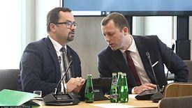 O porozumieniu poinformowali wspólnie Marcin Horała (na zdjęciu po lewej) i Mikołaj Wild.