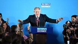 Boris Johnson zwycięsko wyszedł z wyborów w Wielkiej Brytanii.