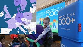 Po wprowadzeniu 500+ niewiele krajów w Europie daje większy socjal na rodziny i dzieci