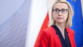 """- Doniesienia o dymisji szefowej resortu finansów Teresy Czerwińskiej to """"burza w szklance wody"""", nie było czegoś takiego - [ zapewniał z kolei niedawno premier Mateusz Morawiecki."""
