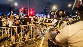 Obywatele Hongkongu kolejny raz wyszli na ulice w protestach przeciwko rządowi