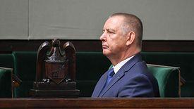 Marian Banaś bardzo rzadko pojawia się publicznie, więc jego obecność na pierwszym posiedzeniu Sejmu nowej kadencji wzbudziła zainteresowanie
