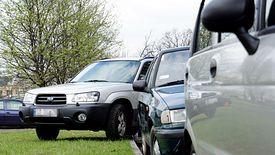Sąsiedzkie kary za parkowanie na pasie zieleni