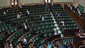 """Sejm przyjął ustawę o """"Tarczy Antykryzysowej 1.1""""."""
