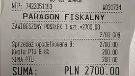 """Tajemniczy klient pojawił się w restauracji dwa razy. Za pierwszym """"zawiesił"""" 600 zł, za drugim - 2,7 tys. zł"""