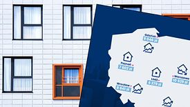 10 tys. zł - tyle kosztuje metr kwadratowy mieszkania w Warszawie