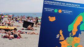 Więcej przypadków wirusa pojawiło się w dwóch turystycznych krajach - Chorwacji i Bułgarii