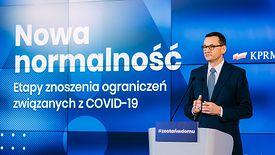 Premier Mateusz Morawiecki przedstawił szczegóły drugiego etapu odmrażania gospodarki.