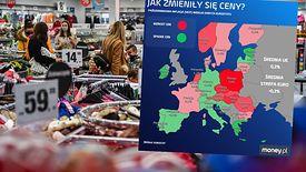 Polska jest numerem jeden w Europie pod względem skali wzrostu cen.