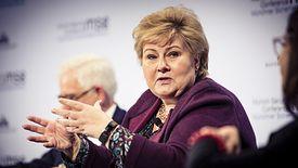 Erna Solberg, premier Norwegii wprowadza nowe obostrzenia w kraju. Dotkną one również Polaków