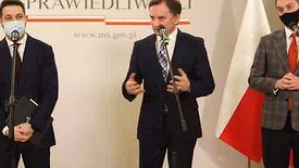 Konferencja Zbigniewa Ziobry odbyła się w czwartek.