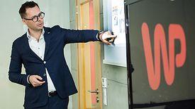 WP to najsilniejsza marka spośród wszystkich portali internetowych w Polsce. Na zdjęciu Jacek Świderski, prezes Wirtualna Polska Holding.