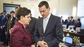 Na zdjęciu Mateusz Morawiecki, który będzie nadzorował GPW, LOT i Grupę Azoty