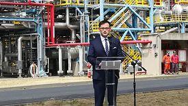 Daniel Obajtek zapewnia, że dzięki inwestycji Polska stanie się eksporterem produtów petrochemicznych