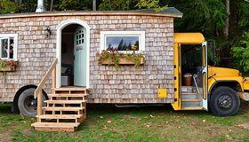 Domy na kółkach - możesz w nich wygodnie mieszkać i podróżować