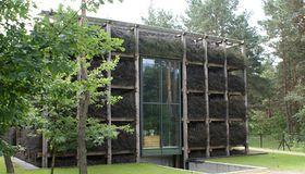 Dizajnerski dom architekta z tężnią solankową
