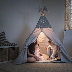 Rozbij namiot w domu. Tipi pełne inspiracji