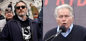 Joaquin Phoenix i 79-letni Martin Sheen zostali ARESZTOWANI w Waszyngtonie