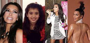 Kim Kardashian kończy 40 LAT! (STARE ZDJĘCIA)