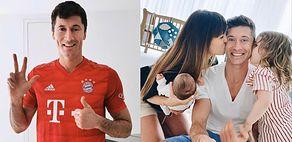 """Szczęśliwy tata Robert Lewandowski chwali się RODZINNĄ fotografią: """"Moje dziewczynki"""" (FOTO)"""
