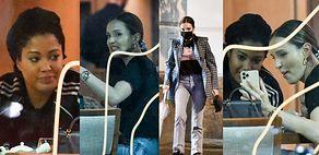Pochmurna Marina z torebką za 40 tysięcy gawędzi z Patricią Kazadi nad filiżanką herbaty (ZDJĘCIA)