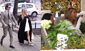 """""""Nadęty"""" Majdan i Rozenek w luksusowym butiku (WIDEO)"""